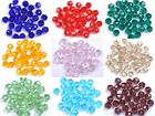 20Pcs Top Quality Czech Crystal Tangent Plane Charms Loose Spacer Beads 8MM