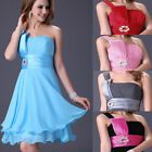New SALE Girls Sexy Short Evening Cocktail Party Bridesmaid Nightclub-wear Dress