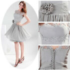 FREE SHIP! Sexy LADY Party FORMAL Bridal Ball gown Cocktail Evening Prom Dress