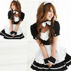 Women Sexy Maid Costume Japanese Halloween Cosplay Party Dresses Fancy Dresses