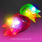 Wholesale Light Up LED Ring Bulk Flashing Jelly Rainbow Rings