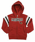 Arizona Cardinals NFL Infant & Toddlers Full Zip Fleece Hoodie Sweatshirt