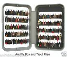 FISHING PRESENT / GIFT Fly Fishing Box and trout fishing flies / fly hooks