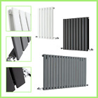 Horizontal Designer Central Flat Column Panel Heating Double Single Radiators