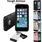iPhone 5 5s TOUGH ARMOURED Slim Fit Shock Proof Hard Protective Case Cover