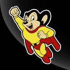 Mighty Mouse Vintage Style Vinyl Decal Sticker Comic Superhero - CHOOSE A SIZE!