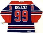WAYNE GRETZKY EDMONTON OILERS CCM VINTAGE JERSEY WITH C NEW WITH TAGS