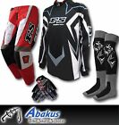 YOUTH MX MOTOCROSS JERSEY+PANTS+GLOVES*RED*-Dirt Bike Gear/MotoX/Junior/Kids/ATV