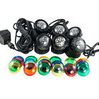 Submersible 4/6 LED Pond Spot Lights for underwater Pool fountain