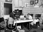 1911 CHILD LABOR SORTING NUTS TENEMENT NEW YORK HISTORICAL PHOTO