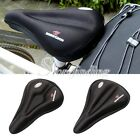Black Bike Bicycle Cycle Seat Saddle Soft Cushion Comfort Gel Pad Cover