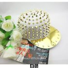 Unisex Hot Punk Hip-hop Gothic Hedgehog Men Women Hat Rivets Spike Studded Cap
