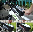 Bicycle Smart Mobile Phone Holder Bag Cycle Frame Pouch Bike Front Tube Case UK