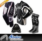 ADULT MX JERSEY+PANTS+GLOVES*BLACK*-Dirt Bike Gear/Off-road/Motocross/BMX/MotoX
