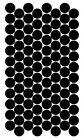 Round Color Code Dot Label Inventory Vinyl Sticker Decal - 15 COLOR OPTIONS