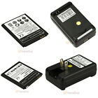 Battery Replacement & Dock Battery Charger for Samsung Galaxy S3 I9300 S4 I9500