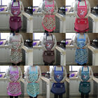 Korean Women Cooking Kitchen Apron Dress With Pocket Floral Apron Lovely New