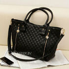 Designer Women Celebrity Handbag Shoulder Messenger Black Bag Tote Satchel Purse
