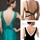 Hot Women's Backless V Conversion Low Back Bra Strap Converter Extender