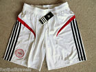 S M L XL XXL DANMARK ADIDAS FOOTBALL SHORTS Home soccer calcio NEW Mens Denmark