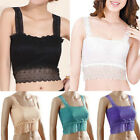 FREE P&P NEW Womens Ladies Strap Basic Vest Lace Crop Top Bandeau Boob Tube Bra