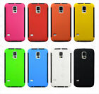 For Samsung Galaxy S5 SV 9600 Hybrid PC + GEL Built In Screen Protector Case C1