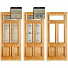 LPD Doors Adoorable Oak Danielle 3 Light Double Glazed Exterior/External Door