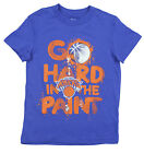 NBA Basketball Youth New York Knicks Hard in the Paint Shirt - Blue