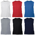 Gildan Mens Performance Sleeveless Jersey Knit T-Shirt Vest Tank Top Size S-3XL
