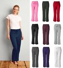GILDAN Heavy Blend Women's Missy Open Bottom Sweatpants G18400FL 18400 10 COLORS