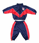 Mighty Mac NBA Basketball Toddlers New Jersey Nets Wind Suit Set - Navy & Red