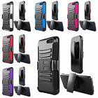 Hybrid Armor Protection Case Cover Holster Belt Clip Stand For Amazon Fire Phone