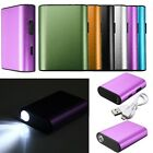 6000mAh Portable External Battery USB Charger Power Bank Cable For Mobile Phone