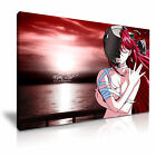 ANIME ELFEN LIED 1  Canvas Framed Printed Wall Art - More Size