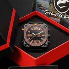 SHARK Military Men's LCD Day Date Alarm Backlit Army Sport Quartz Watch