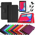Folio Leather Case Cover For LG G PAD 10.1 Inch V700 Tablet + Screen protector