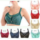 New Super Boost Push Up Lace Mesh Side Support Plunge Underwired Bra C Cup 36-44