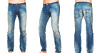 """DIESEL """"Belther"""" Regular Slim Tapered Leg Distressed Jeans 0828T NEW NWT $328"""