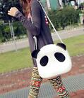 New Listing Women's Cute Style Panda PU Leather Handbag Casual Shoulder Bag