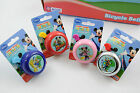 MICKEY MOUSE CLUB HOUSE KIDDIES BIKE BELLS PINK,BLUE,RED OR CHROME CYCLE BELL