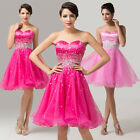 New Short Bridesmaid Formal Gown Ball Party Cocktail Evening Prom Pageant Dress