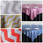 "72X72"" Square Satin Chevron TABLE OVERLAY Designer Wedding Linen"