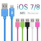 MFi LP 8 PIN Lighting Sync Data Cable USB Charger for iPhone 5s/5c/5/6/6 Plus