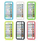 TPU Wrap Up Phone Case Cover with Built In Screen Protector For Apple iPhone 5C