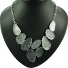 big alloy chain charms necklaces fashion jewelry metal BIB style collar NL-1681