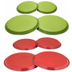 4PC HOB COVER SET STAINLESS STEEL COOKER ELECTRIC BURNER RING LID PROTECTOR NEW
