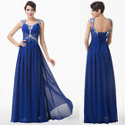 ❤SEQUINS❤ Long Bridesmaid Evening Homecoming Party Ball Gown Wedding Prom Dress