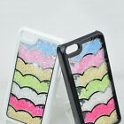2014 Water Ripple Rainbow Swarovski Crystal Super Bling Case Cover For iPhone 5C