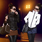 Fashion Femme manteaux Lady Turtle neck Down Coats Wadded Cotton-padded Jackets