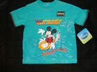 DISNEY MICKEY MOUSE SHORT SLEEVE TEE SHIRT NWTS NEW FOR SUMMER SURFING WAVES